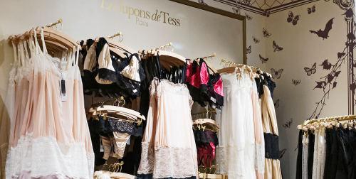 Les Jupons de Tess aux Galeries Lafayette Haussmann