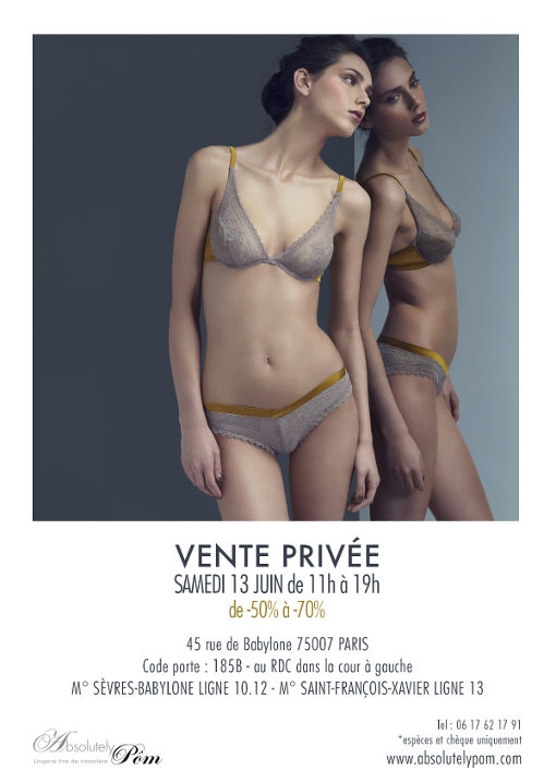 Vente Privée Absolutely Pôm