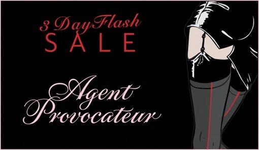 Soldes Flash 2014 Agent provocateur