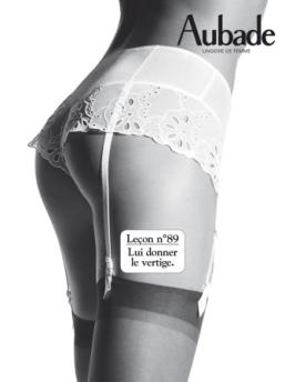 saint valentin lingerie Aubade