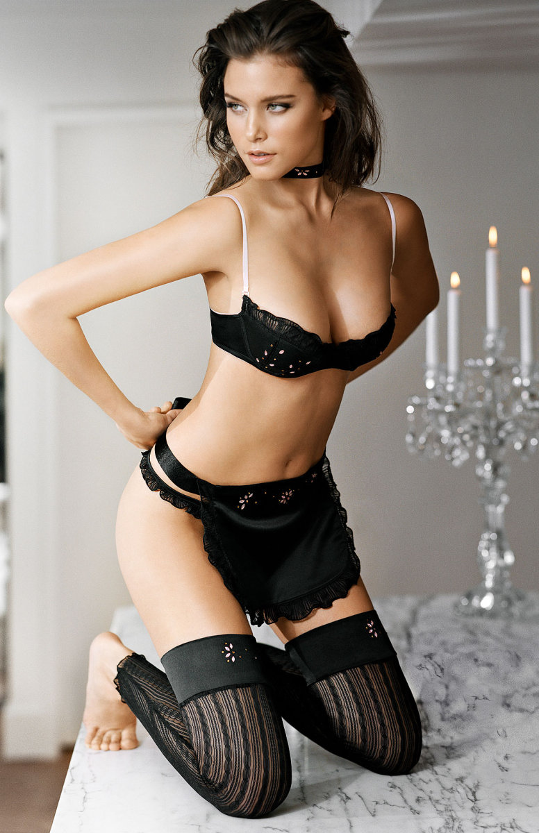 lingerie sexy The Black edition