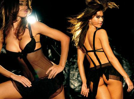 lingerie de noel Roberto Crescentini