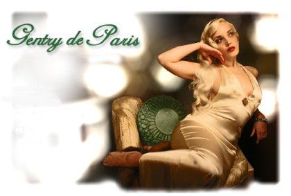 lingerie Gentry de Paris