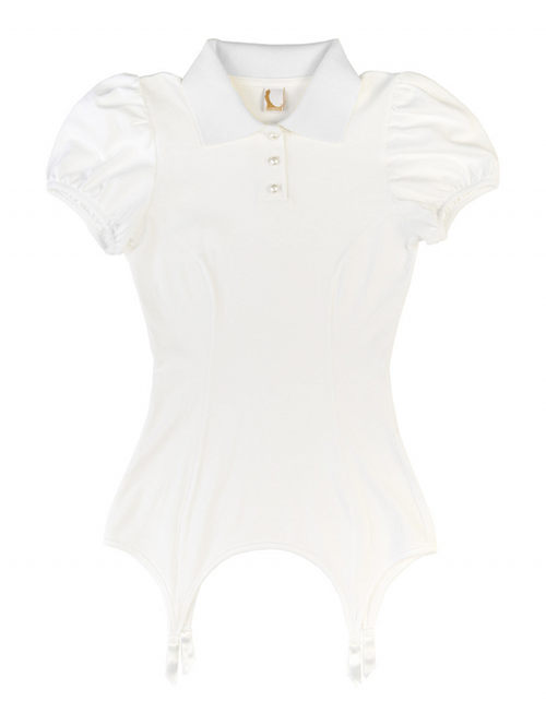 Kriss Soonik Kristel Polo Suspender T-Shirt
