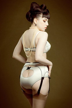 dessous retro Mademoiselle Fred