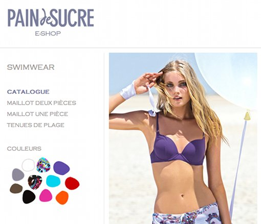 boutique en ligne Pain de Sucre