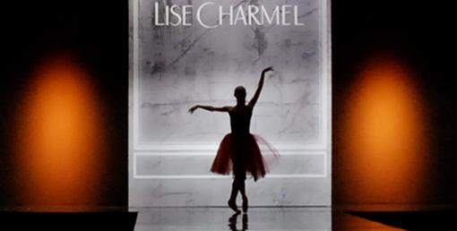 Lise Charmel au salon de la lingerie 2012
