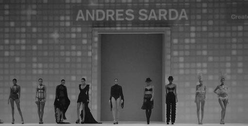 Andres Sarda au Salon de la Lingerie 2014