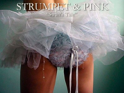 lingerie Strumpet and Pink