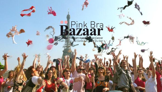 Pink Bra Spring 2017